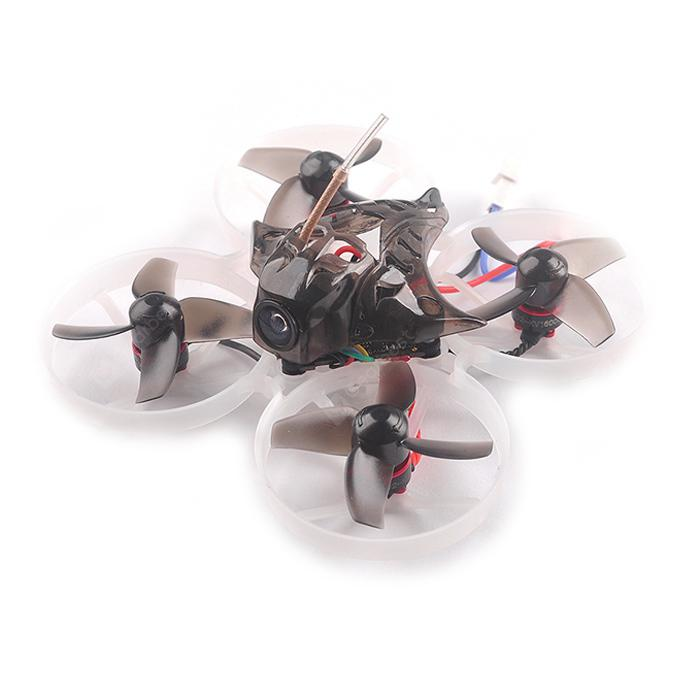 HAPPYMODEL Mobula7 75mm 2S Indoor Brushless Whoop RC Drone - Black Basic BNF FLYSKY