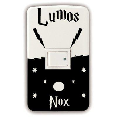Classic Movie Switch Sticker Lumos Nox Wall Stickers for Kids Room Home Decor