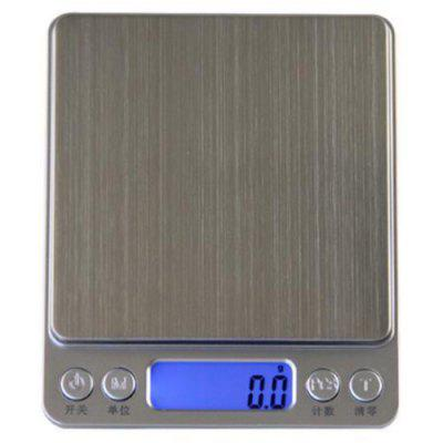 I2000 Home Kitchen Baking Electronic Stainless Steel Jewelry Scale