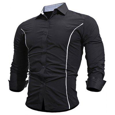 Men Leisure Long-sleeved T-shirt