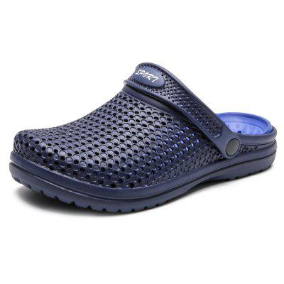 Men Shoes Beach Sandals Hollow out Slippers