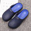 Men Shoes Beach Sandals Hollow out Slippers - LAPIS BLUE