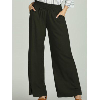SBETRO Wide Leg Pants Solid Casual Loose Female Trousers Sporty