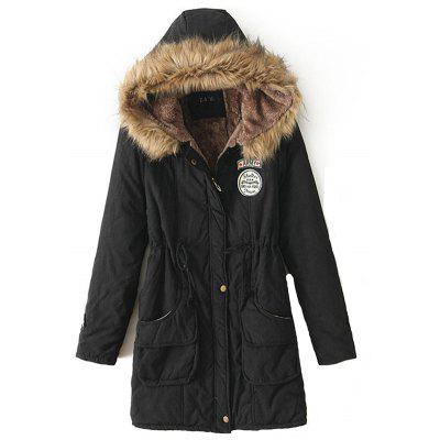 New Long Parkas Female Womens Winter Jacket Coat Thick Cotton Warm Jacket Womens