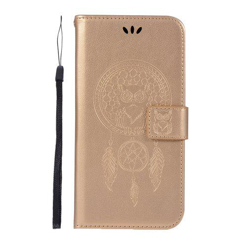 timeless design c9ca2 f983c Owl Wallet PU Flip Leather Cover for Samsung Galaxy J4 Plus / J4+ 2018 Case