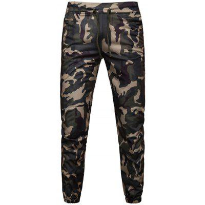 Men's Fashion Casual Loose Sports Camouflage Pants