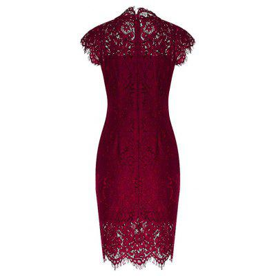 Vintage Lace Fitted Dress