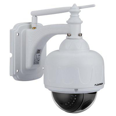 FLOUREON 1080P Wifi 2.7-13.5mm H.264 Wireless CCTV Security TF Micro SD Card 5XZOOM IR-CUT IP66 Dome PTZ IP Camera UK