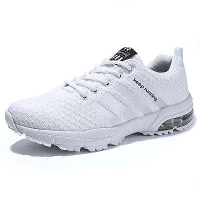 Men Casual Fashion Lace Up Mesh Running Air Big Size Shoes