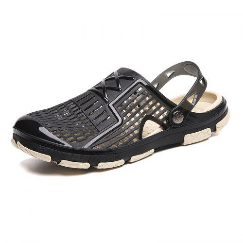 591944e6e284 ZEACAVA Explosion Models Male Sandals Cross-Border Large Size Beach Shoes