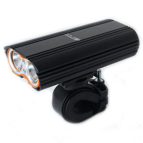 ZHISHUNJIA 1600lm 4-Mode LED Flashlight Headlamp USB Rechargeable Bicycle Lamp