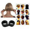 Synthetic Wig Donuts Bud Head Band Ball French Twist Magic DIY Tool     Hair Band - DARK BROWN