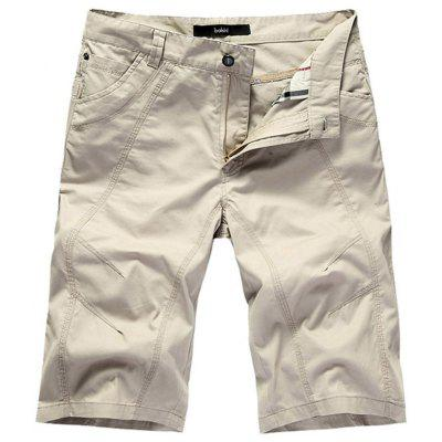 Summer Cotton Loose Men'S Seven Points Casual Shorts