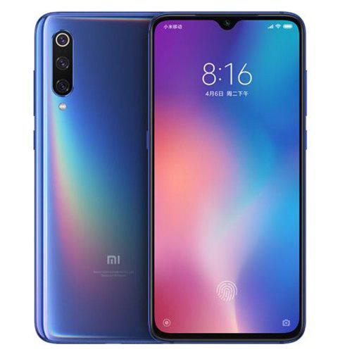 Gearbest Xiaomi Mi 9 4G Phablet Global Version 128GB ROM - Blue 6GB RAM 16.0MP + 48.0MP + 12.0MP Rear Camera Fingerprint Sensor Face ID