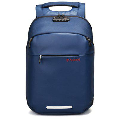 aoking SN77605 Homens Moda Anti-roubo Business Computer Travel Backpack