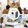 Excelvan Q2 Kids Toy Projector - YELLOW
