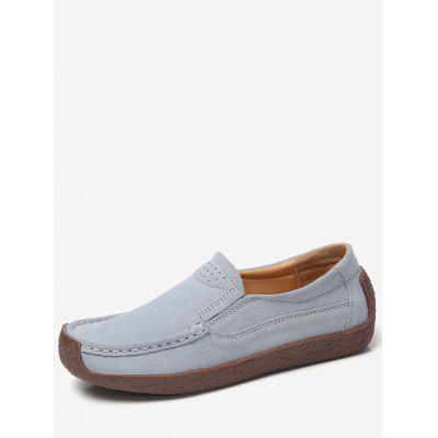 Casual Suede Flat Shoes