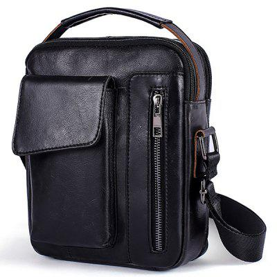 Men Fashion Crossbody Bag Classic Durable Zipper