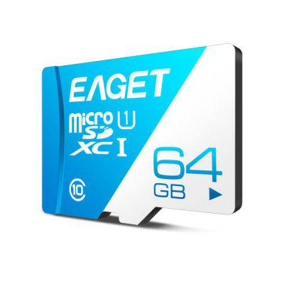 EAGET T1 UHS-I Micro Carte Mémoire Flash TF à Haute Vitesse