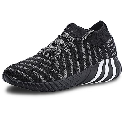 Men's Casual Shoes Sports Fashion Breathable Flying Woven