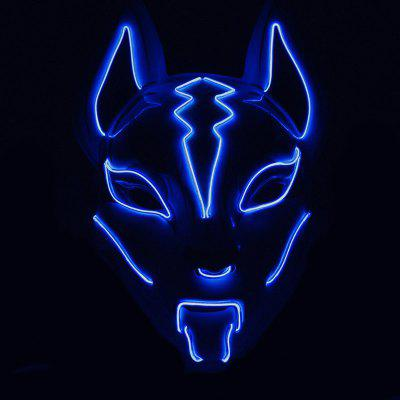 Fox Shape Glowing Mask for Decoration