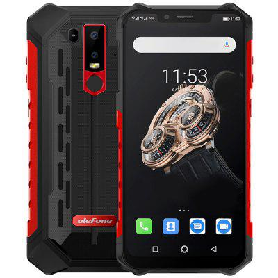 Ulefone Armor 6S 4G Phablet 6.2 inch Android 9.0 Helio P70 Octa Core 2.1GHz 6GB RAM 128GB ROM 16.0MP + 8.0MP Rear Camera 5000mAh Battery IP68 IP69K