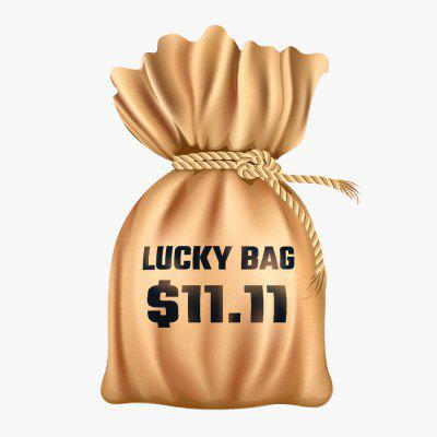 Lucky Bag with Wireless Fast Charger Car Mount Holder