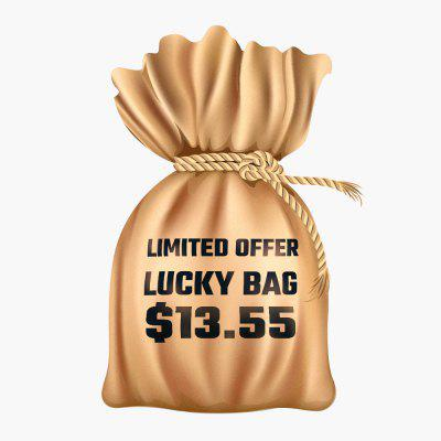 Lucky Bag with 3 in 1 Wireless Charger Fast Charging for iPhone AirPods iWatch