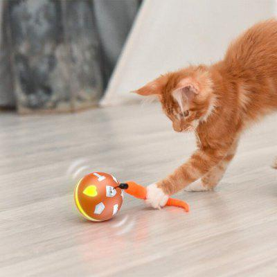 BENTOPAL P04 USB Charging Smart Ball Pet Toy with Colorful Lights