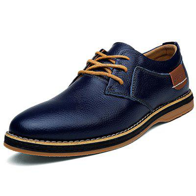Lace Up Large Size Breathable Men Shoes