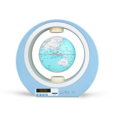 Magnetic Levitation Globe Volley Suspension 360° Rotatable LED Light Home Decoration
