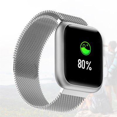 F11 Full-screen Touch Smart Watch Magnetic Metal Strap