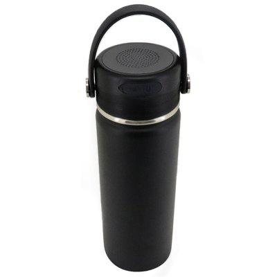 Portable Creative Smart Bluetooth Speaker Cup Multifunctional Thermos Music Sports Cup