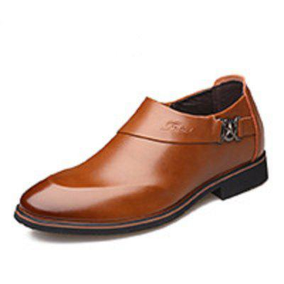 Mens Youth Business Leather Shoes Point Toe Casual