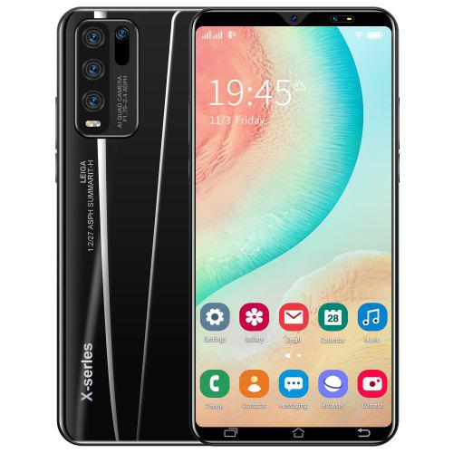 Y50 MT6537 Smartphone Octa Core 5.8 inch 1GB RAM 16GB ROM Android 10.0 8MP 13MP Cameras Face ID Fingerprint Recognition 4800mAh Battery
