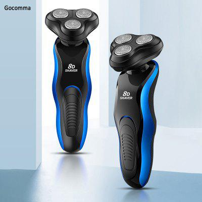S400 8D Multifunctional Electric Shaver Full Body Washable Rechargeable Beard Cutter Razor