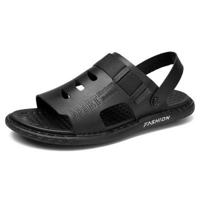 Men Sandals Summer Breathable Casual Trendy Shoes Fashion Cool Slippers Home Outdoor Footwear Large Size