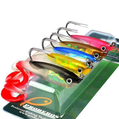 Colorful Soft Fish Road Bait