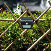 BRELONG Solar PIR Light 24 x SMD 2835 7W 500Lm Cordless Waterproof Human Body Induction - BLACK