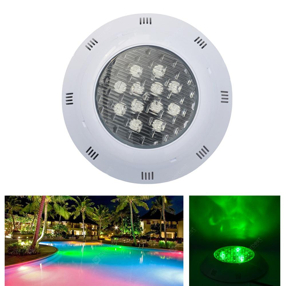JIAWEN 12W IP68 Waterproof RGB LED Underwater Swimming Pool ...