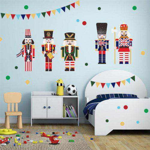 Home Decoration Cartoon Characters Childrens Room Wall Stickers For Decor