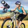 Youoklight 1PCS 1W 5V Cool White Bluetooth Multi-Function Bike Bluetooth Speaker+Mobile Power Bank+Led Flashlight+Bluetooth Call+Fm Radio+Support The Tf Card Contains 18650 Lithium Batteries - BLACK