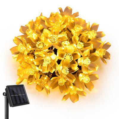 Kwb Led Solar Lights String 7M 50 Balls Led Fairy Blossom Flower Garden Lights na zewnątrz