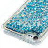 Silver Blue Rhombus All Soft Tpu Quicksand Phone Case for Ipod Touch5/6 - BLUE