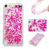 Full Pink Little Love All Soft Tpu Quicksand Phone Case for Ipod Touch5/6 - PINK