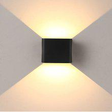 New Fashion Wall Lamp Design Aluminum Wall Lights Black& White Ac85-265v Indoor Outdoor Decorative Aisle Foyer Balcony Cafe Shop Attractive Appearance Led Indoor Wall Lamps