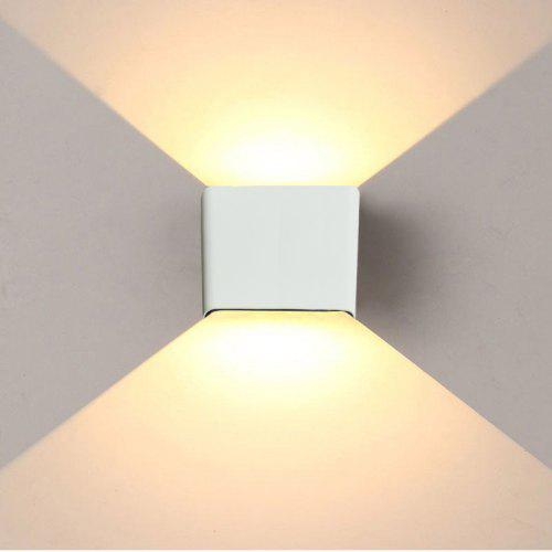 6w Led Wall Light Up Down Stair Bedside Lamp Bedroom Reading Porch Decoration Gearbest