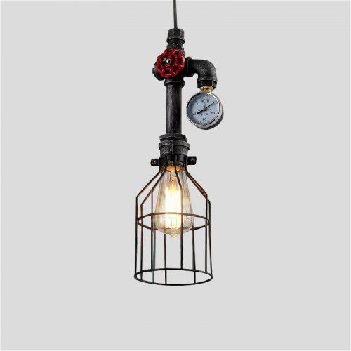 Brightness Industrial Retro Vintage Style Mini Water Pipe Suspension