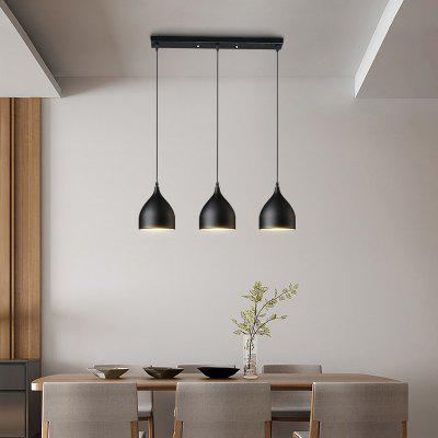 Everflower Modern E27 220 - 240V Lámpara Colgante Negro