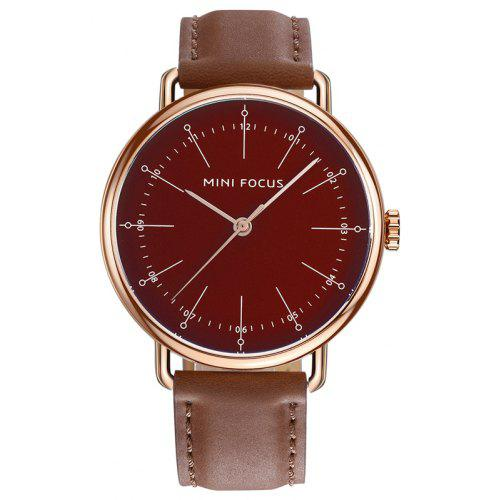 MINI FOCUS Mf0056g 4530 Contracted Dial Male Watch